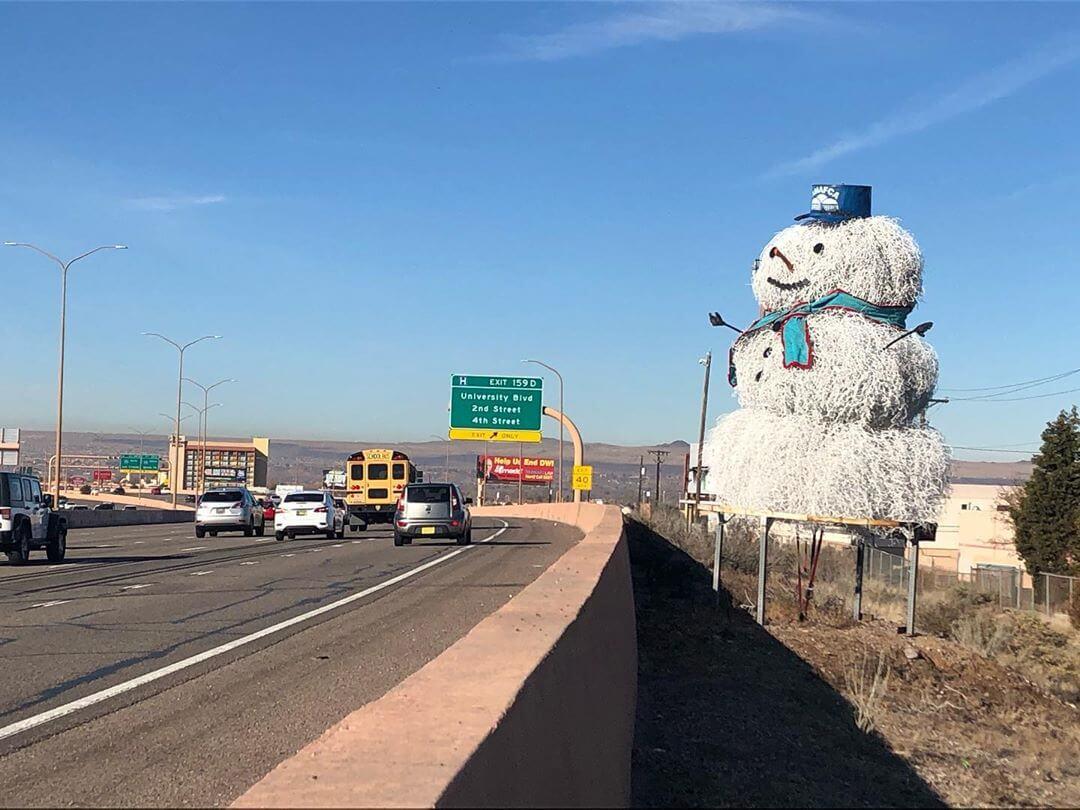 tumbleweed snowman albuquerque new mexico