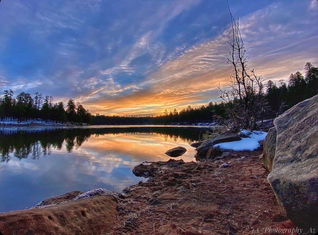 the rim az lakes