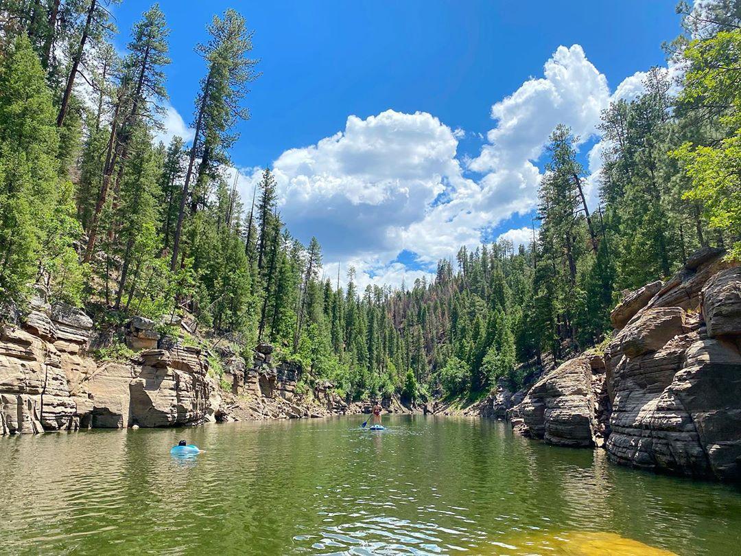 Blue Ridge Reservoir Kayaking az