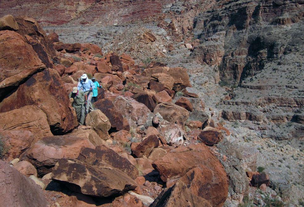 Boulder Field in arizona