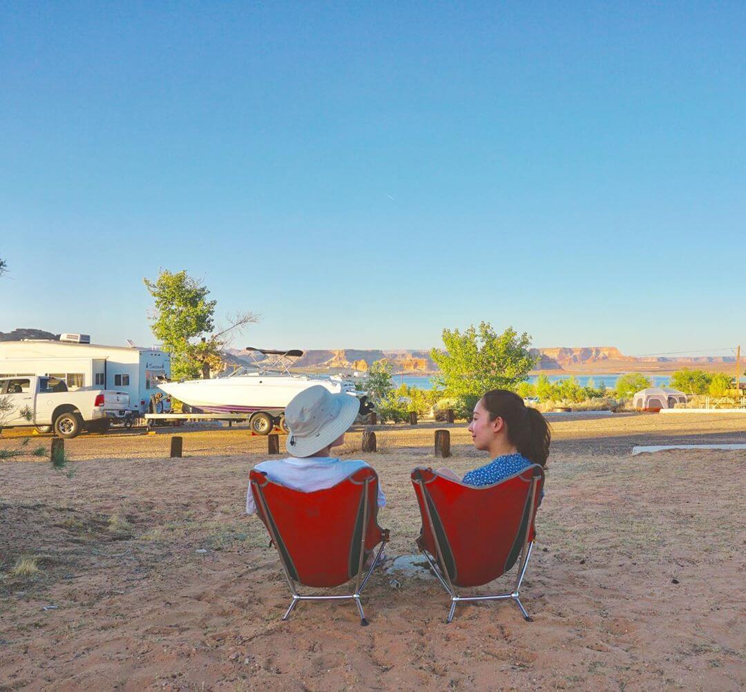 Camping Lake Powell