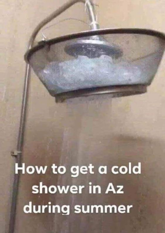 Cold Shower in Arizona
