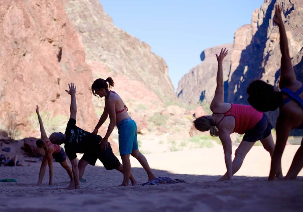 Grand Canyon Yoga 1