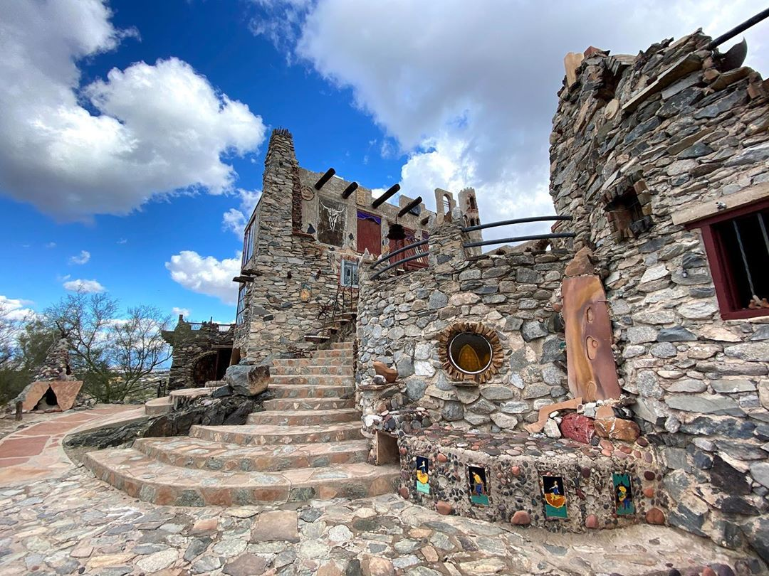 Mystery Castle in arizona
