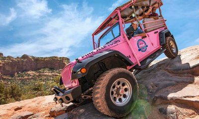 Pink Jeep Tour Sedona Broken Arrow