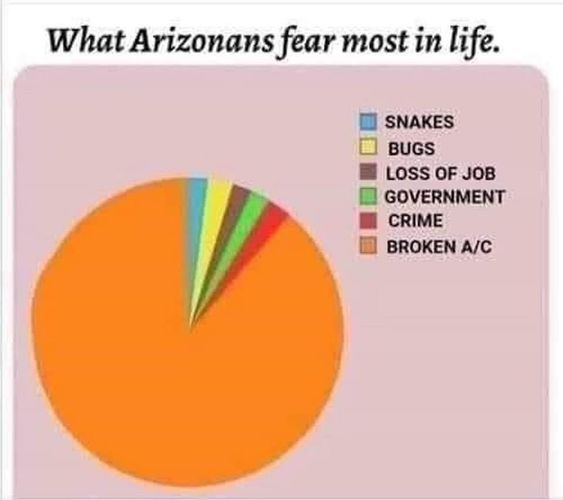 What Arizonans fear Best Arizona Summer Memes