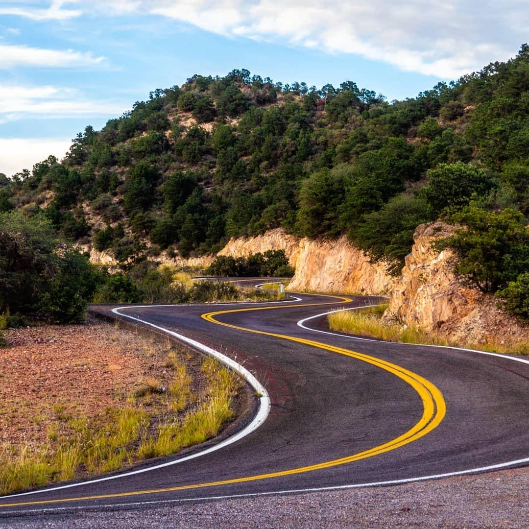 Coronado Trail az road