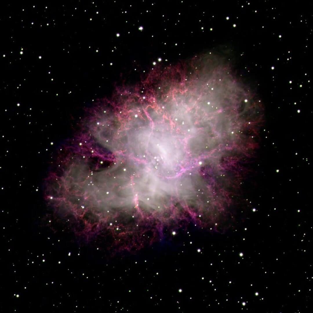 Crab Nebula lowell observatory stargazing