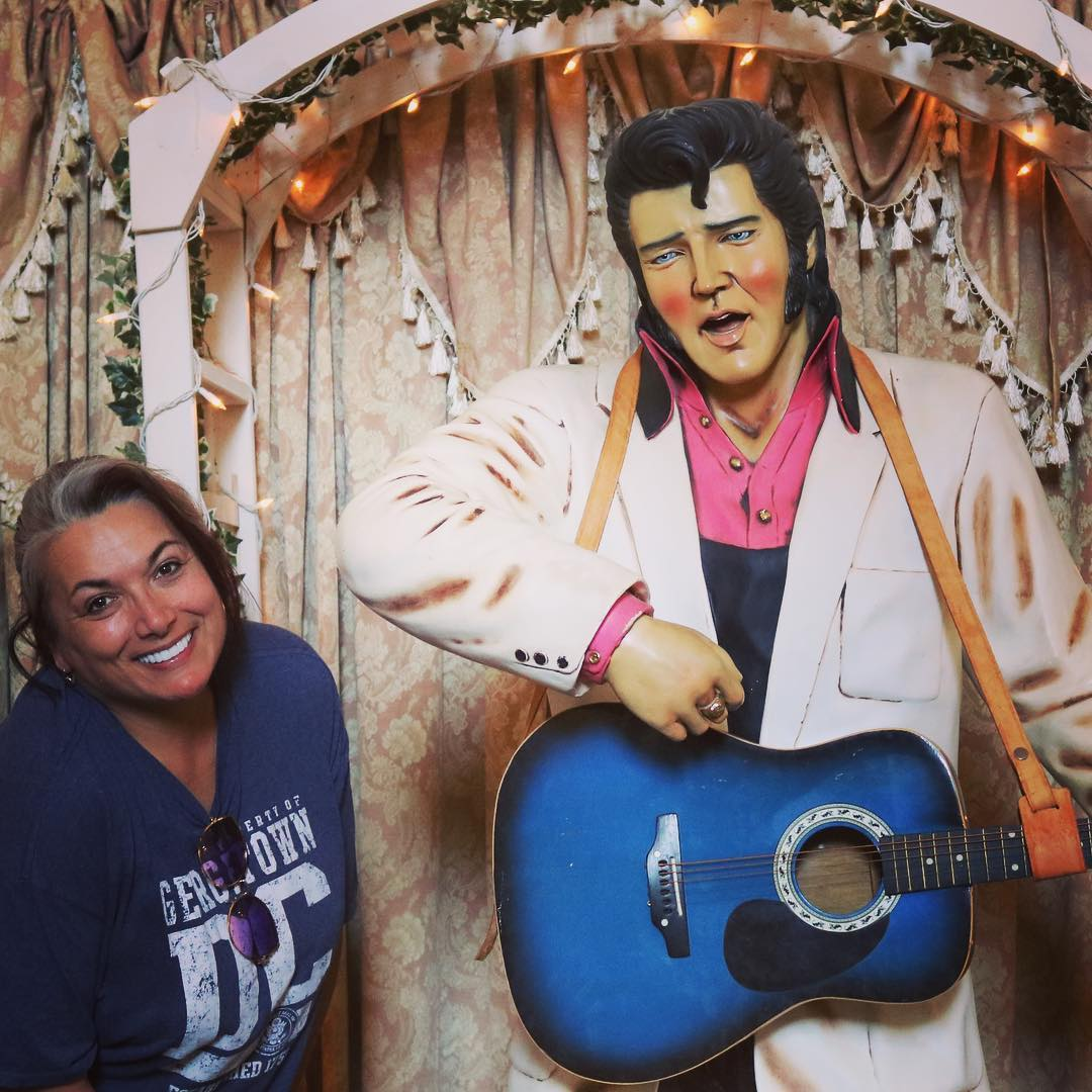 Elvis Presley figure