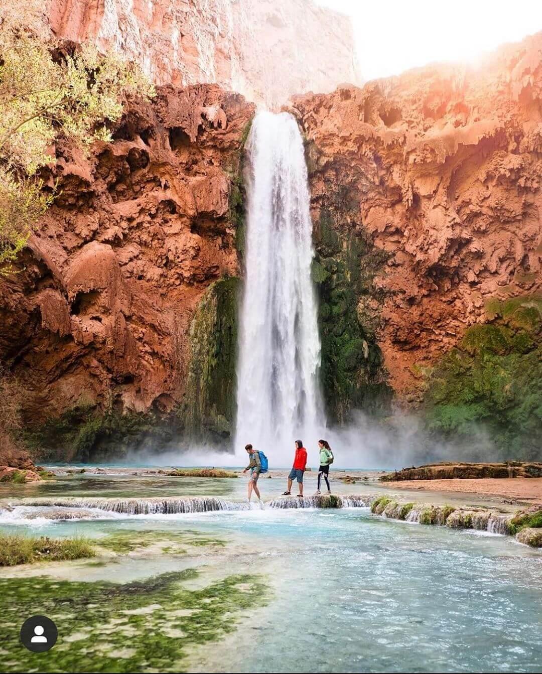 Havasu Falls natural wonders in arizona