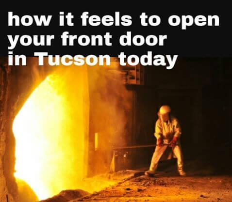Hold the door! Tucson