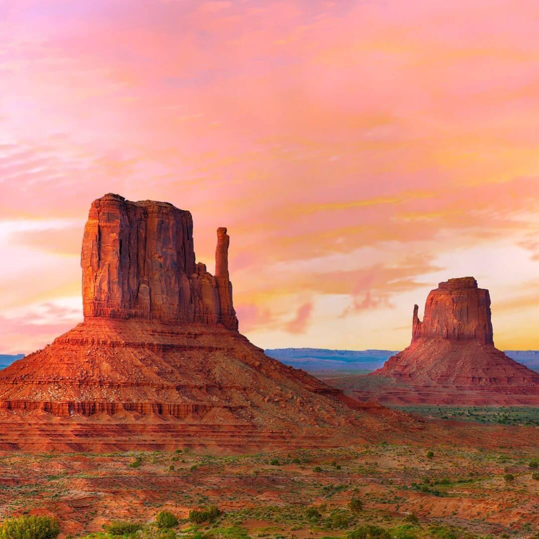Monument Valley natural wonders in arizona