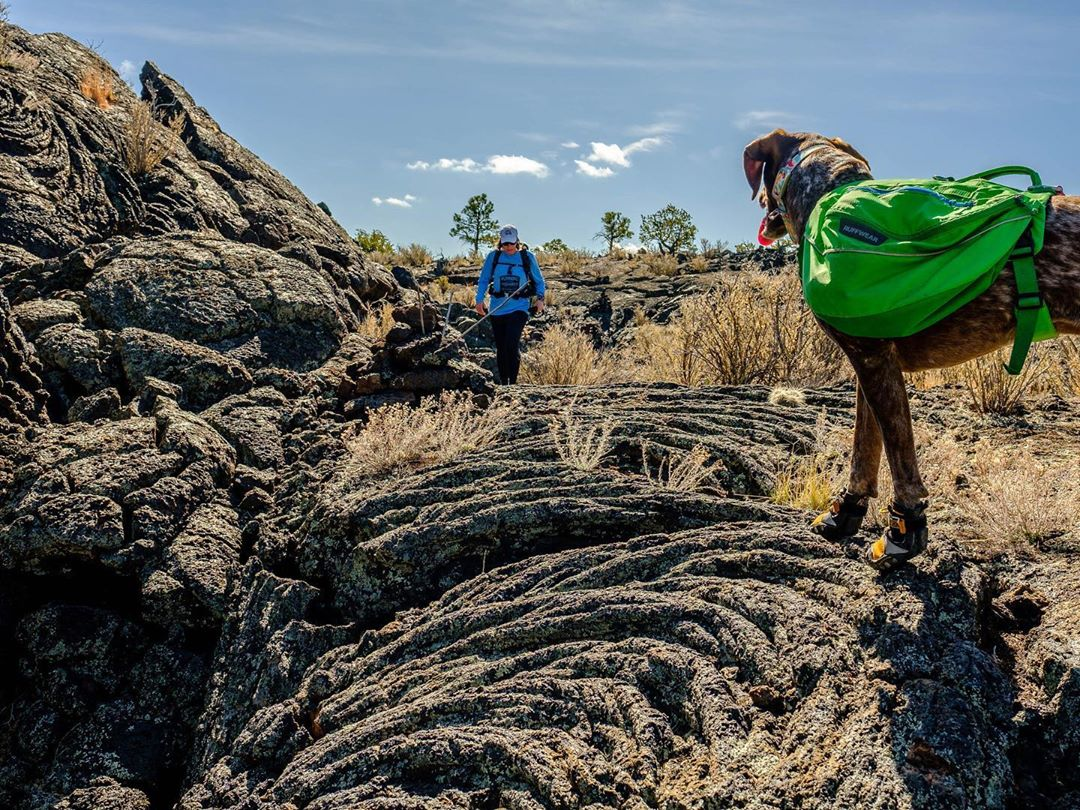 Acoma-Zuni trail El Malpais National Monument