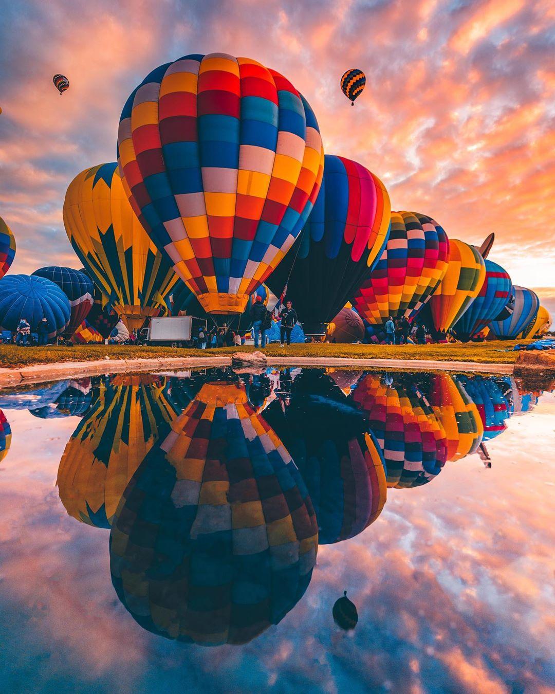Albuquerque International Balloon Fiesta amazing festivals in the world