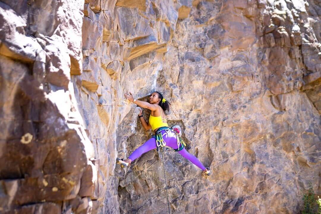 Diablo Canyon climb
