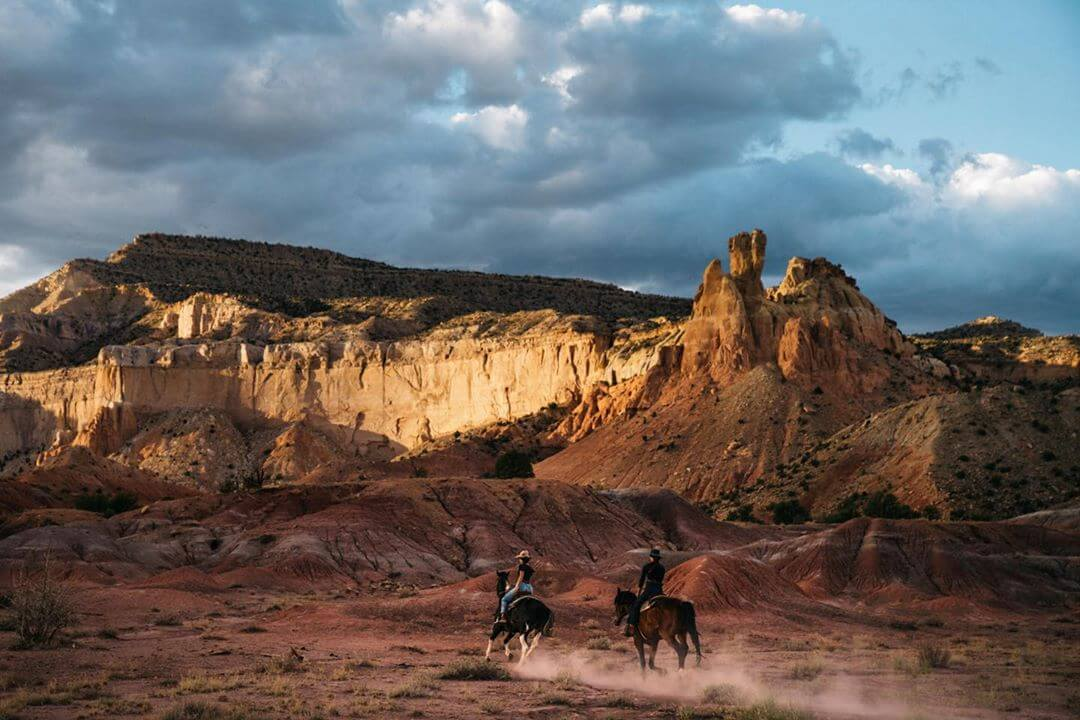 Ghost Ranch stunning places in new mexico