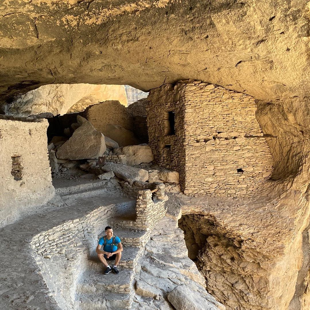 Gila Cliff Dwellings National Monument ancient dwelling