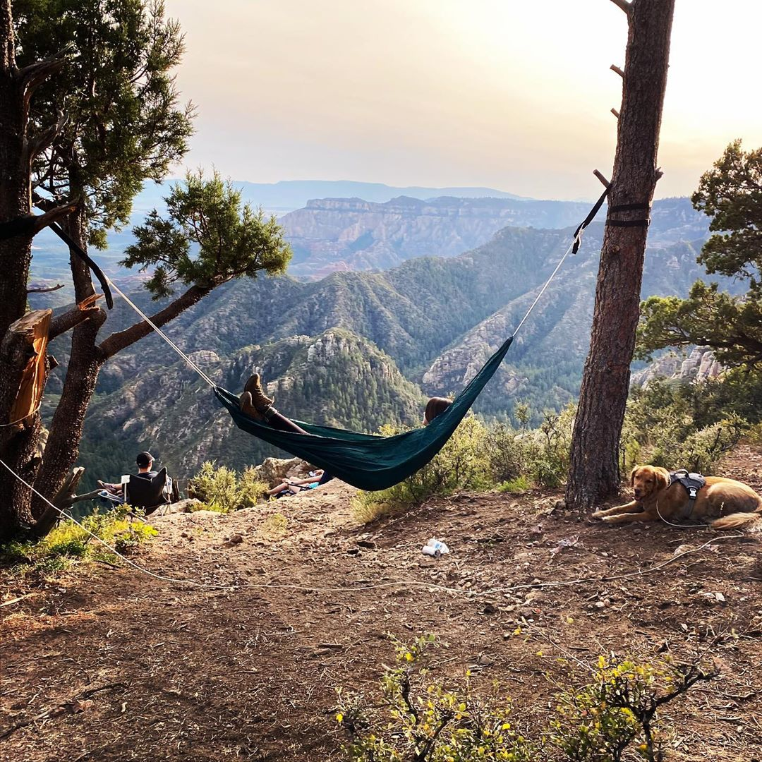 Hammock End of the world view
