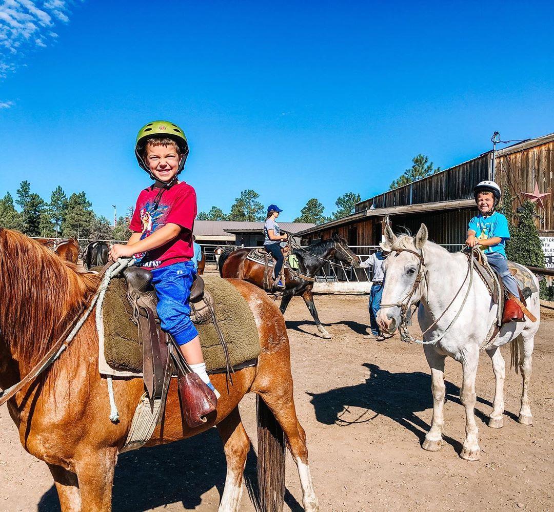 Horseback Ride Kids