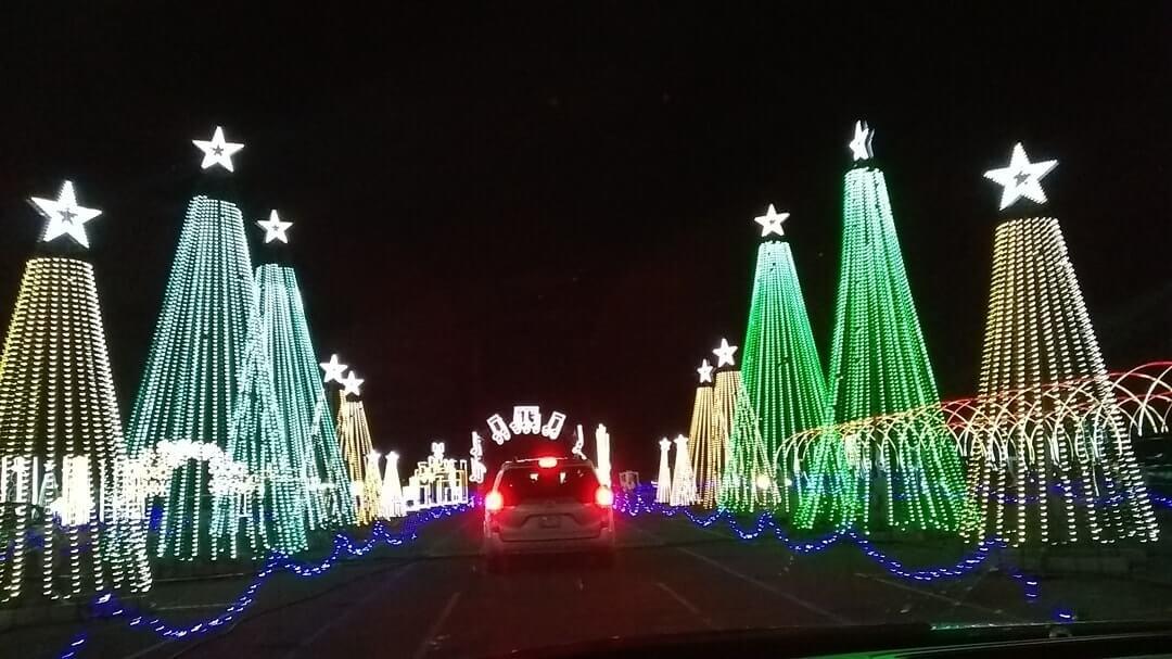 Light show in arizona
