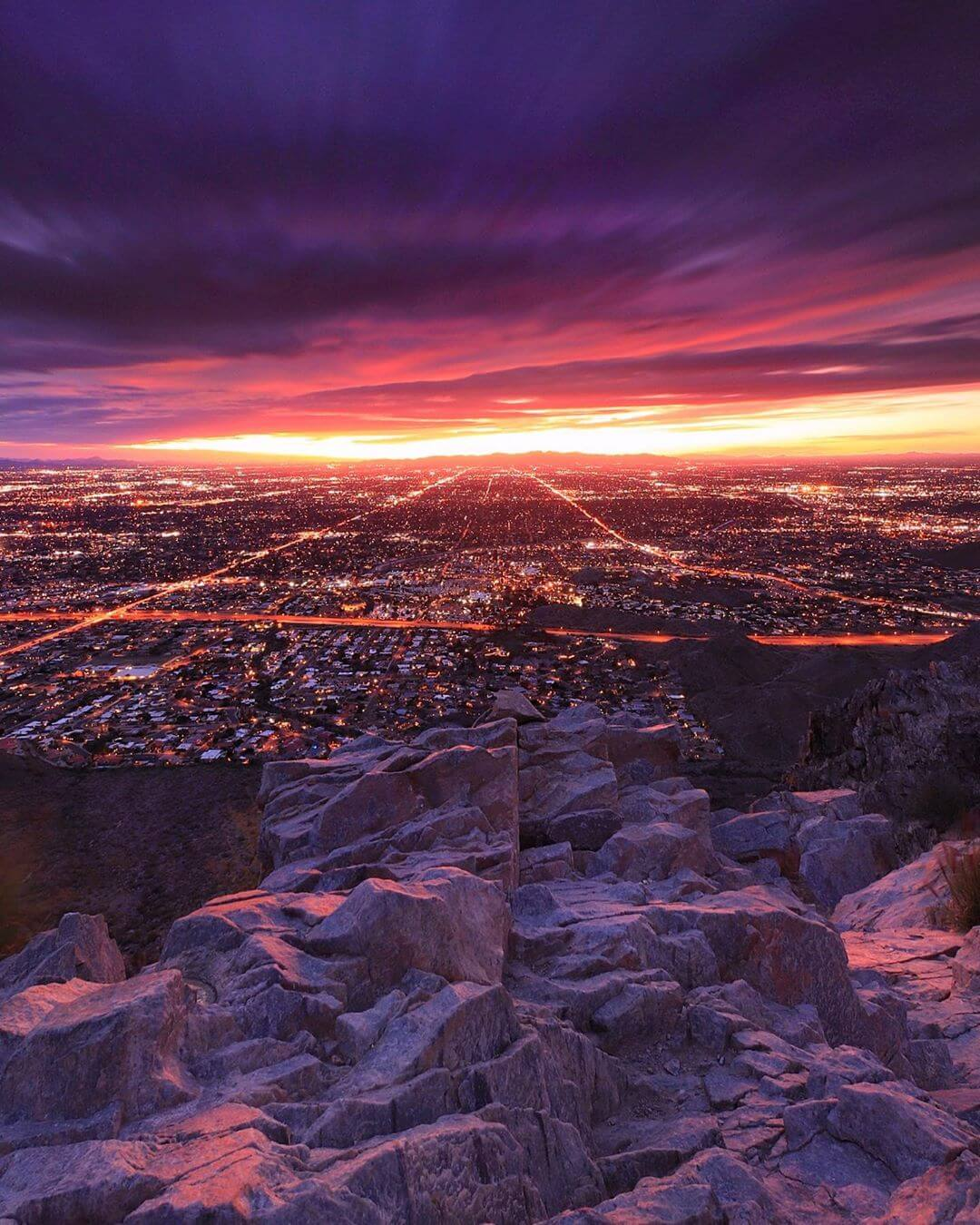 Piestewa Peak view best things to do in phoenix