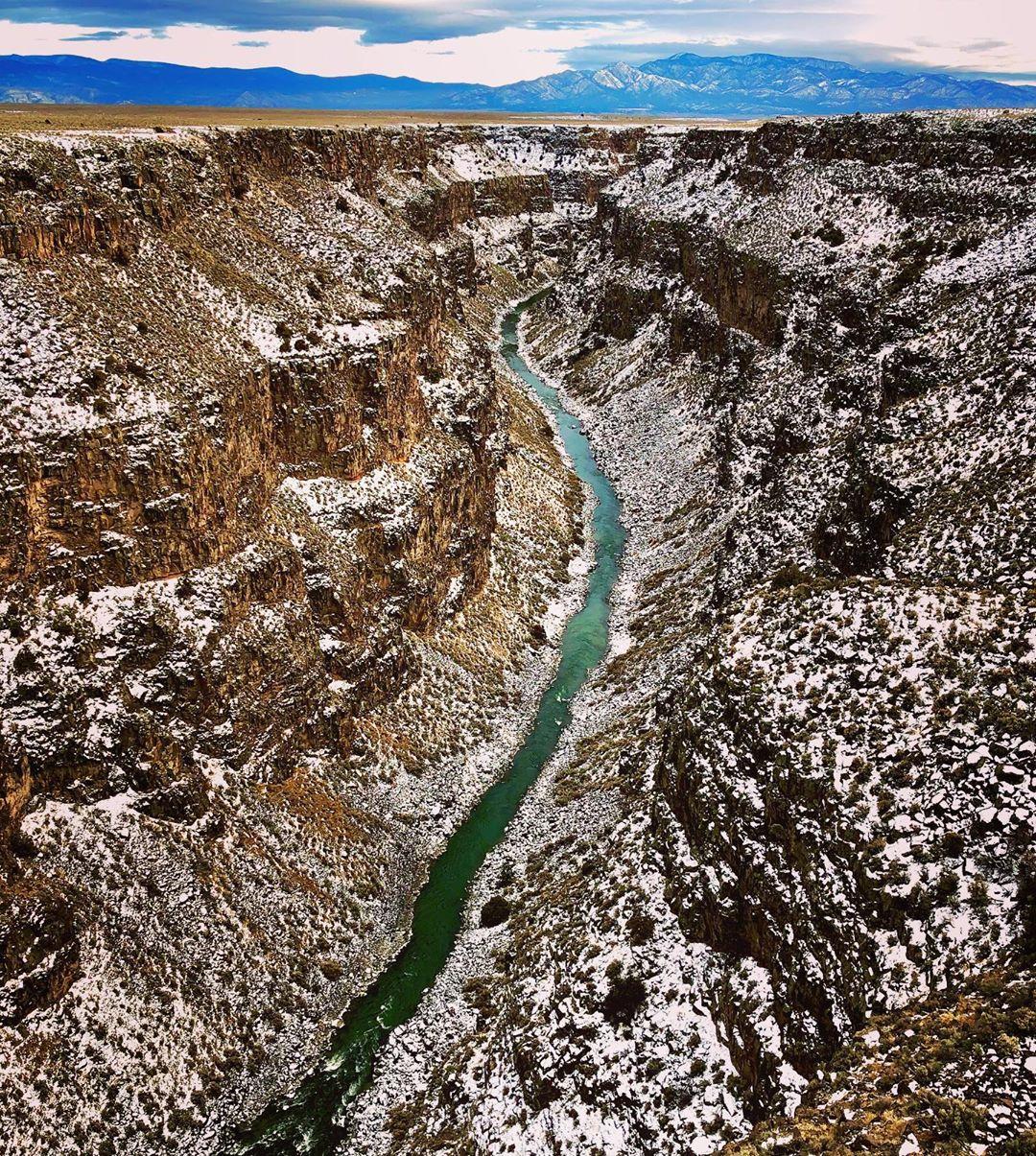 Rio Grande Gorge Bridge must-see places in new mexico