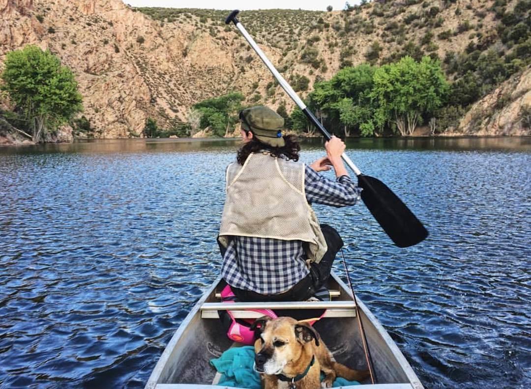 Santa Cruz Lake boating nature spots in New Mexico
