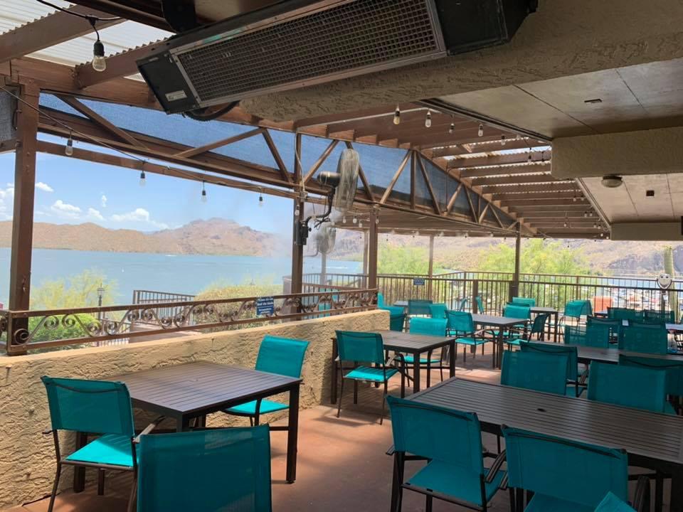 Shiprock Restaurant waterfront restaurants in arizona