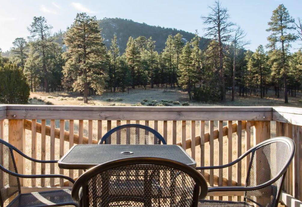 balcony view arizona mountains