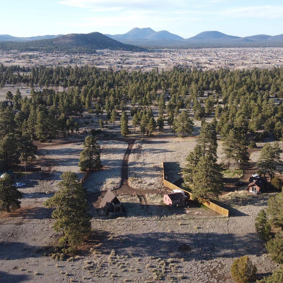 Arizona aerial view