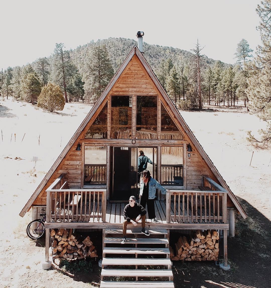 beautiful cabin in Arizona