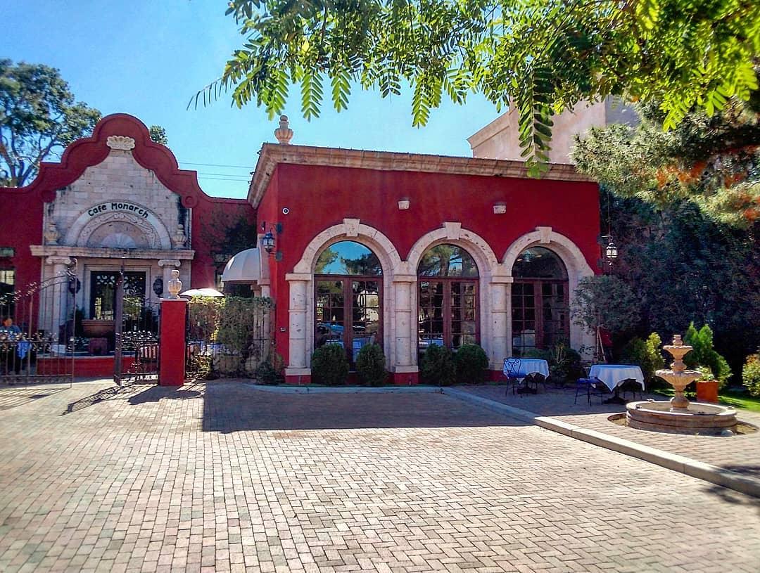 Arizona best romantic restaurant cafe monarch