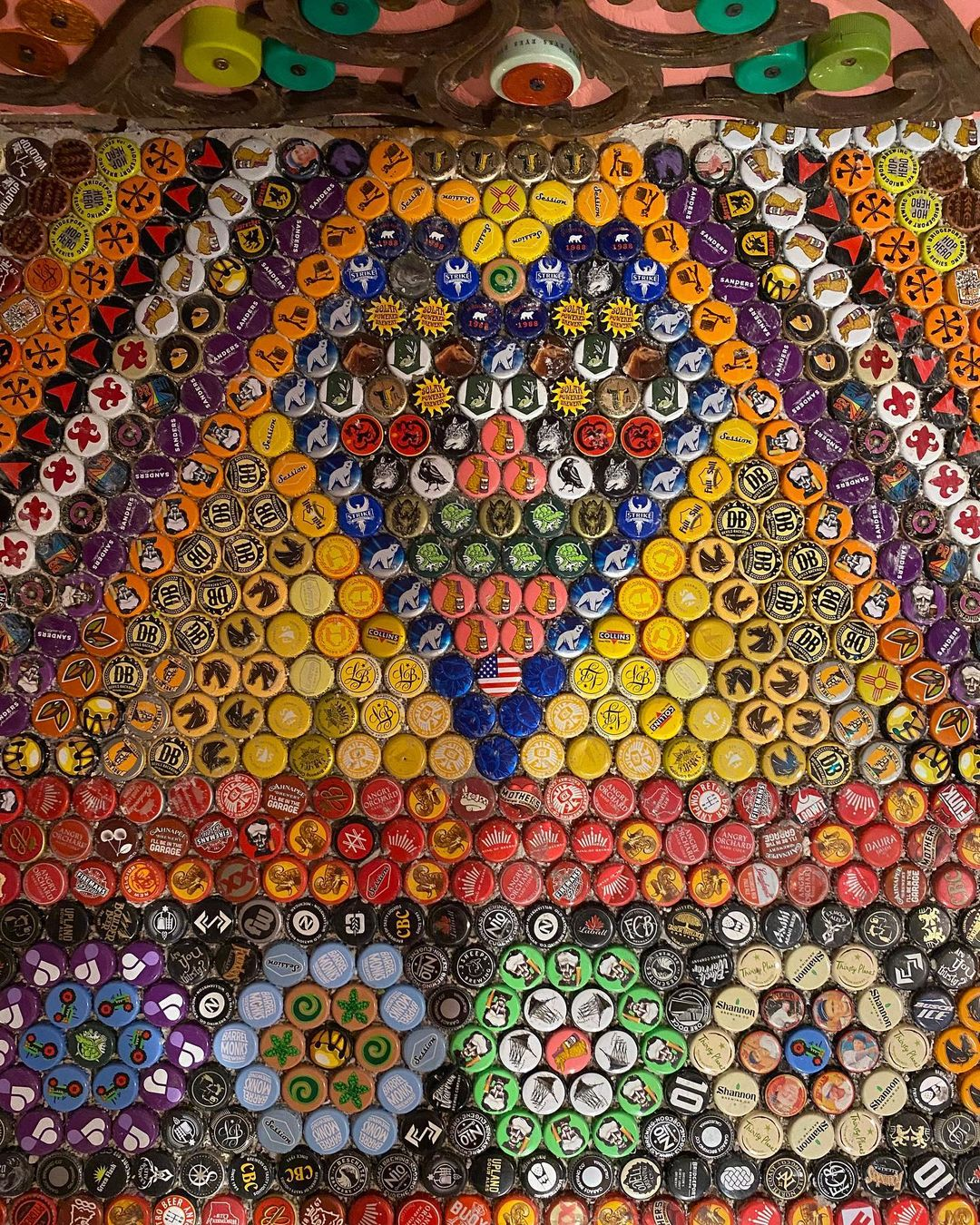 Bottle Caps Art