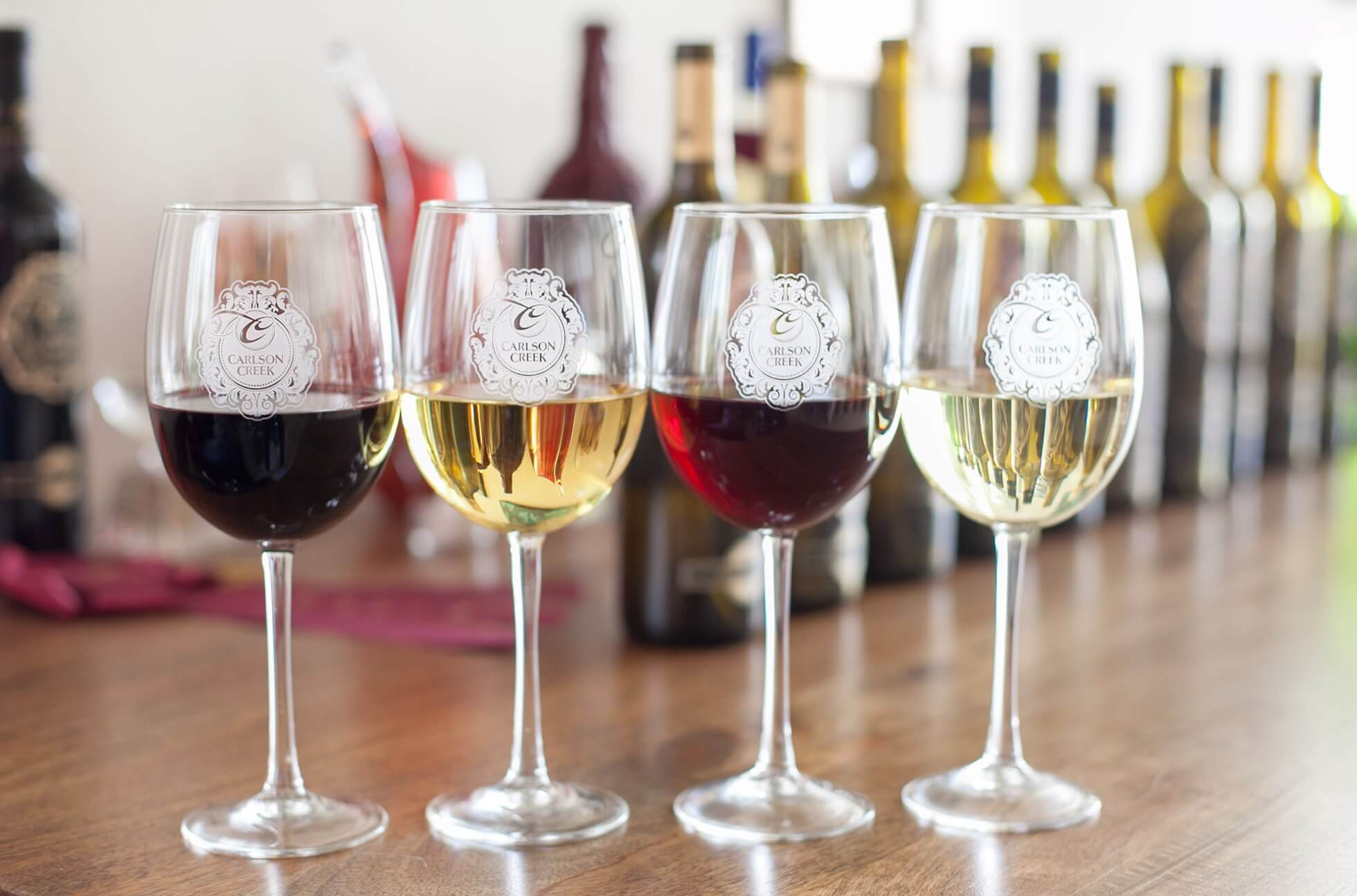 Carlson Creek Vineyard wine-tasting in Arizona