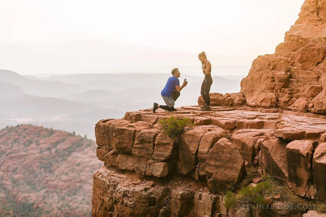 Cathedral Rock proposal arizona