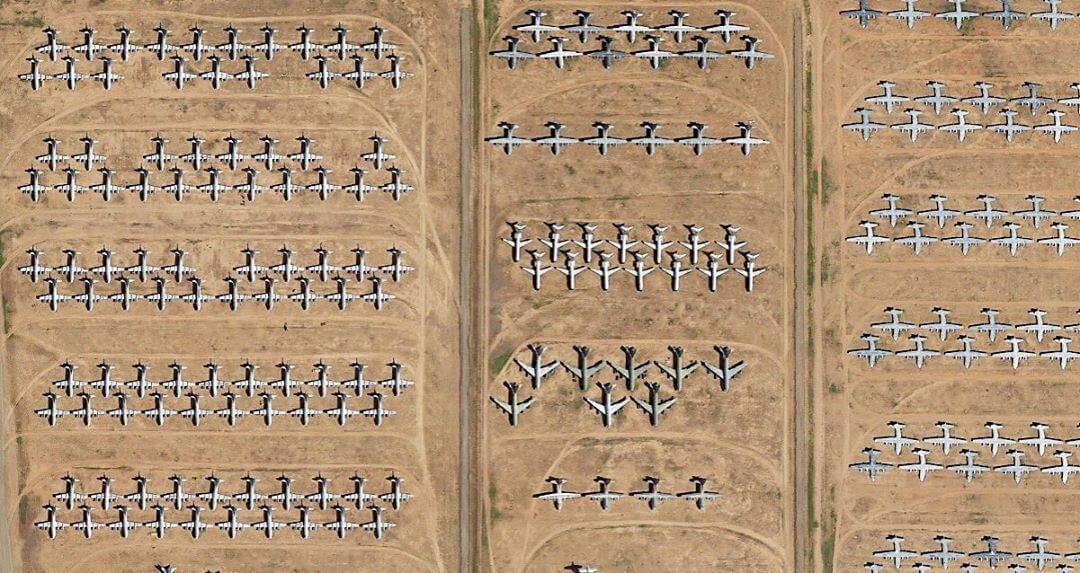 Davis-Monthan Air Force Airplane Boneyard