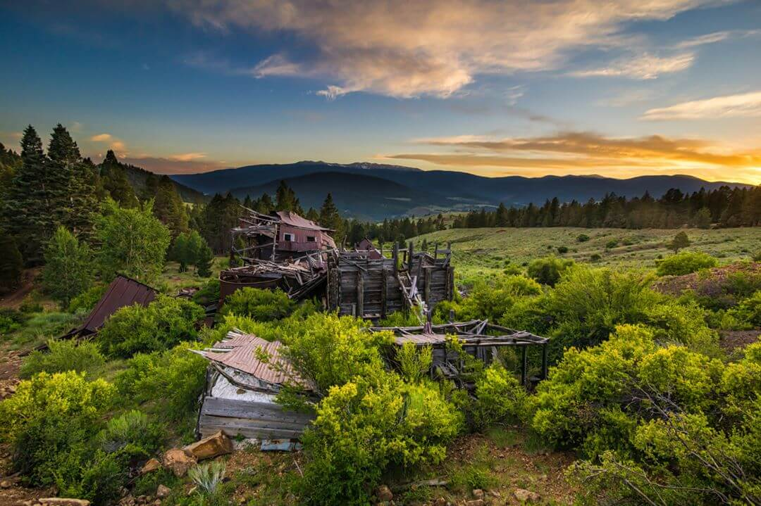 Elizabethtown ghost towns in new mexico