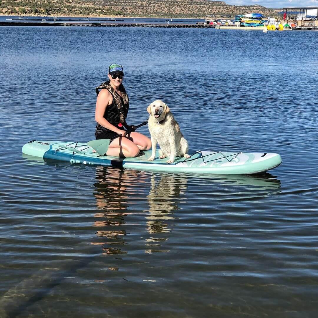 Navajo Lake Marina dog-friendly