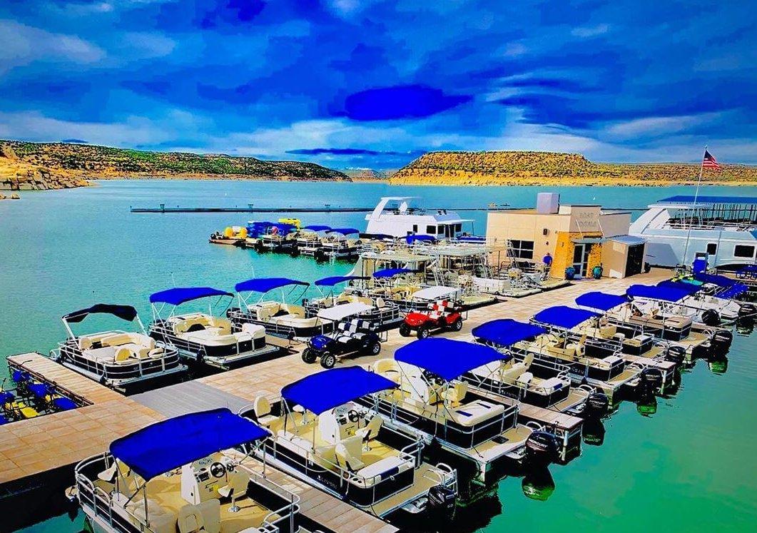 Navajo Lake Marina nm