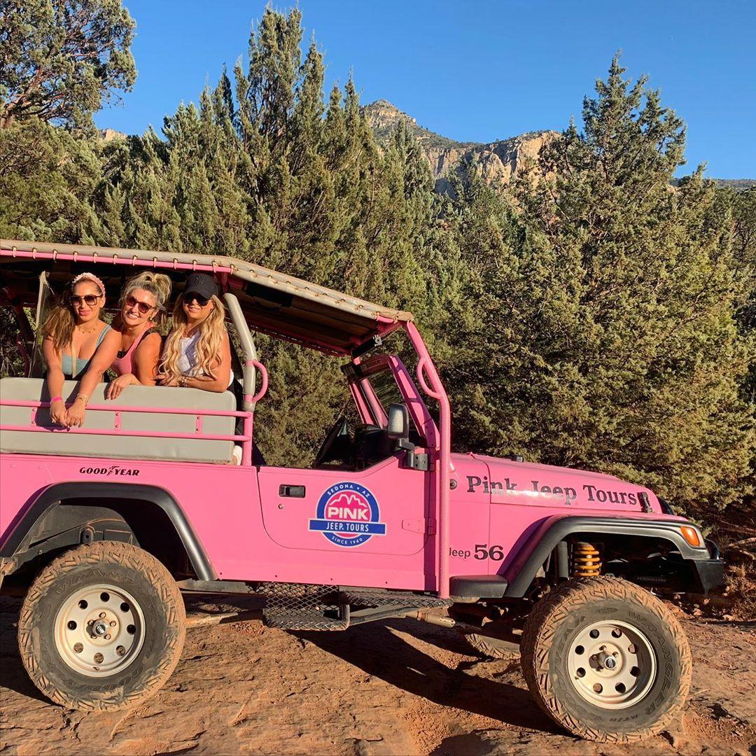 Pink Jeep sedona az