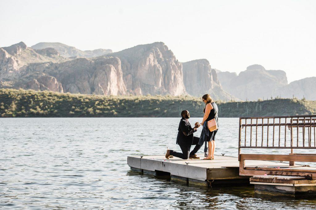Saguaro Lake engagement  Arizona proposals