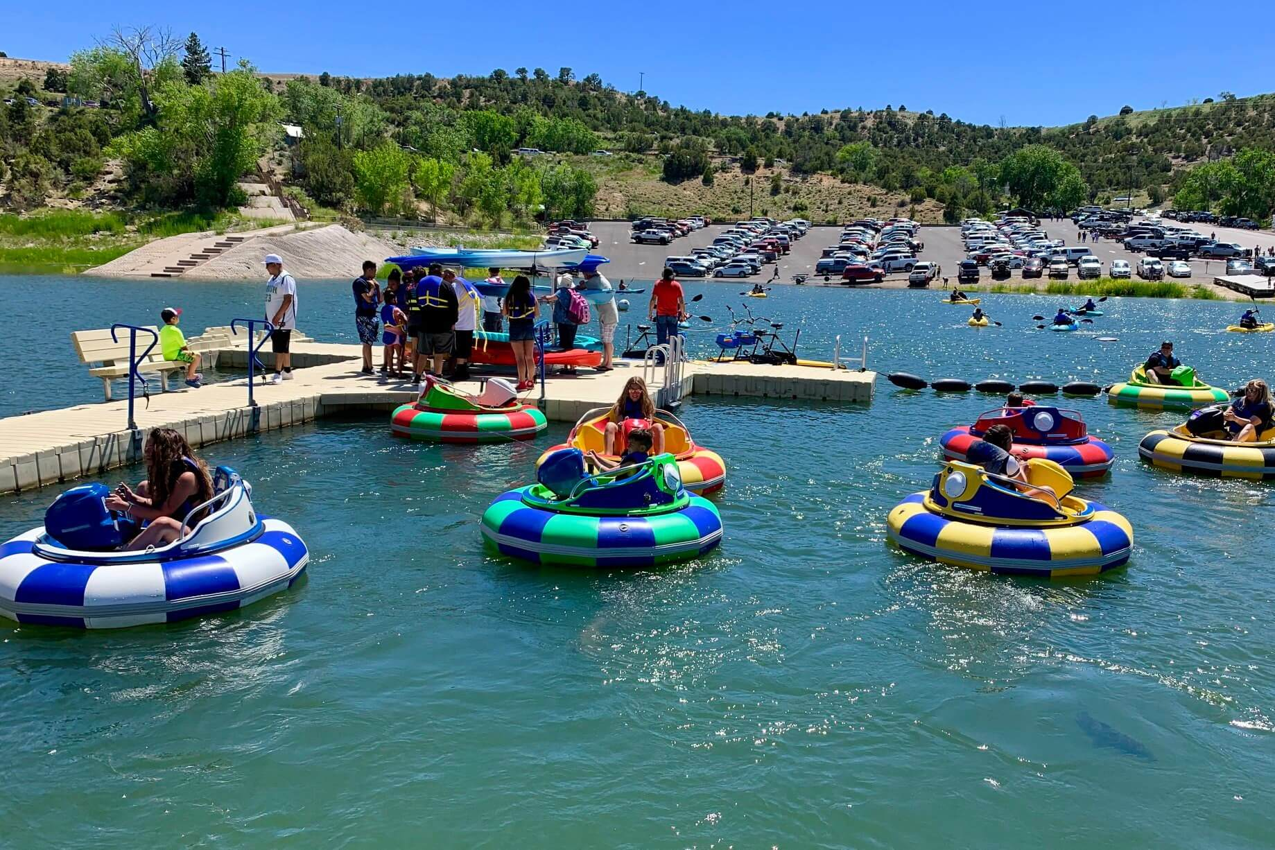 Summer Destination New Mexico water sports