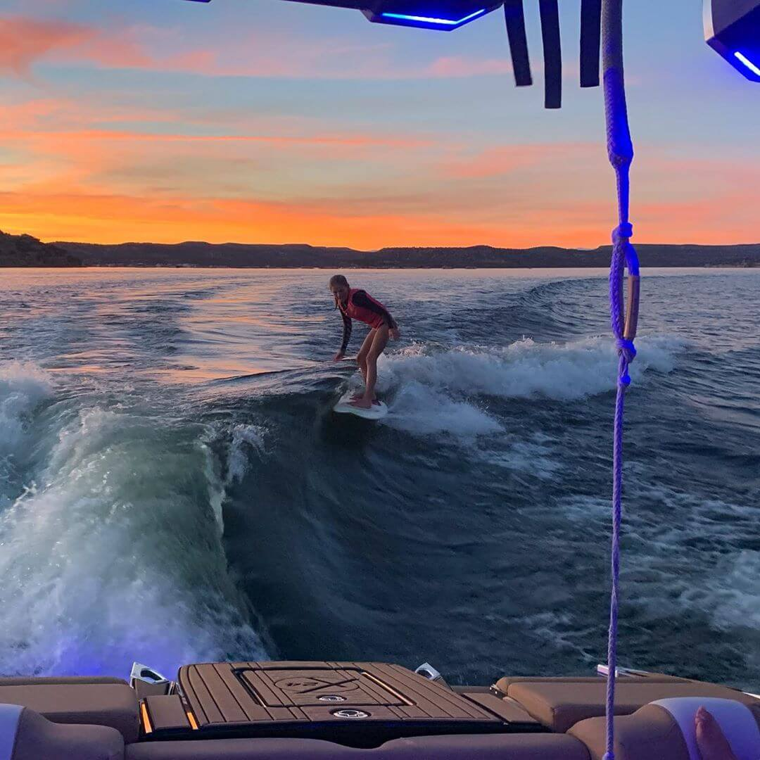 Watersurfing activity new mexico