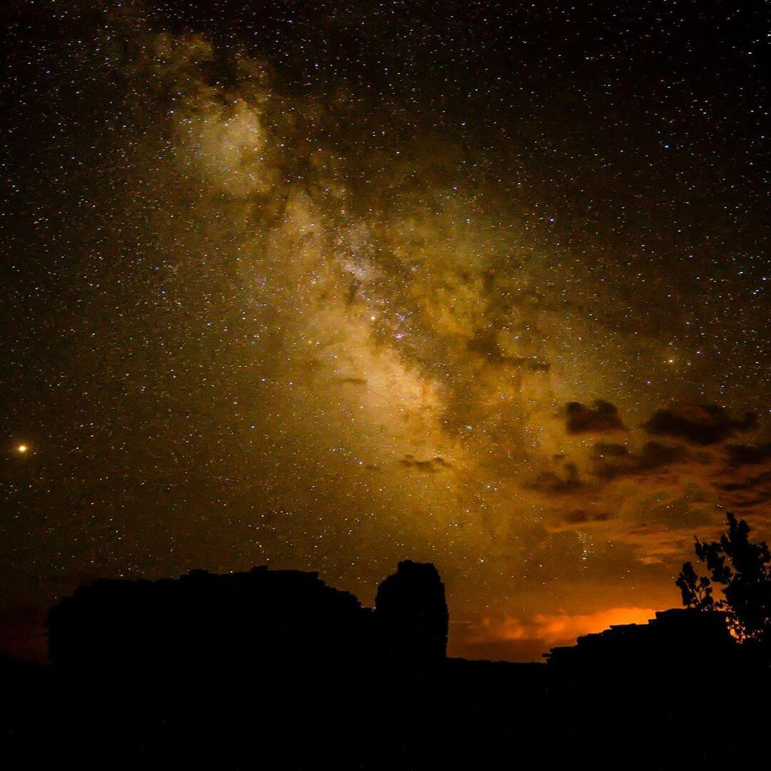 Wupatki National Monument arizona night sky