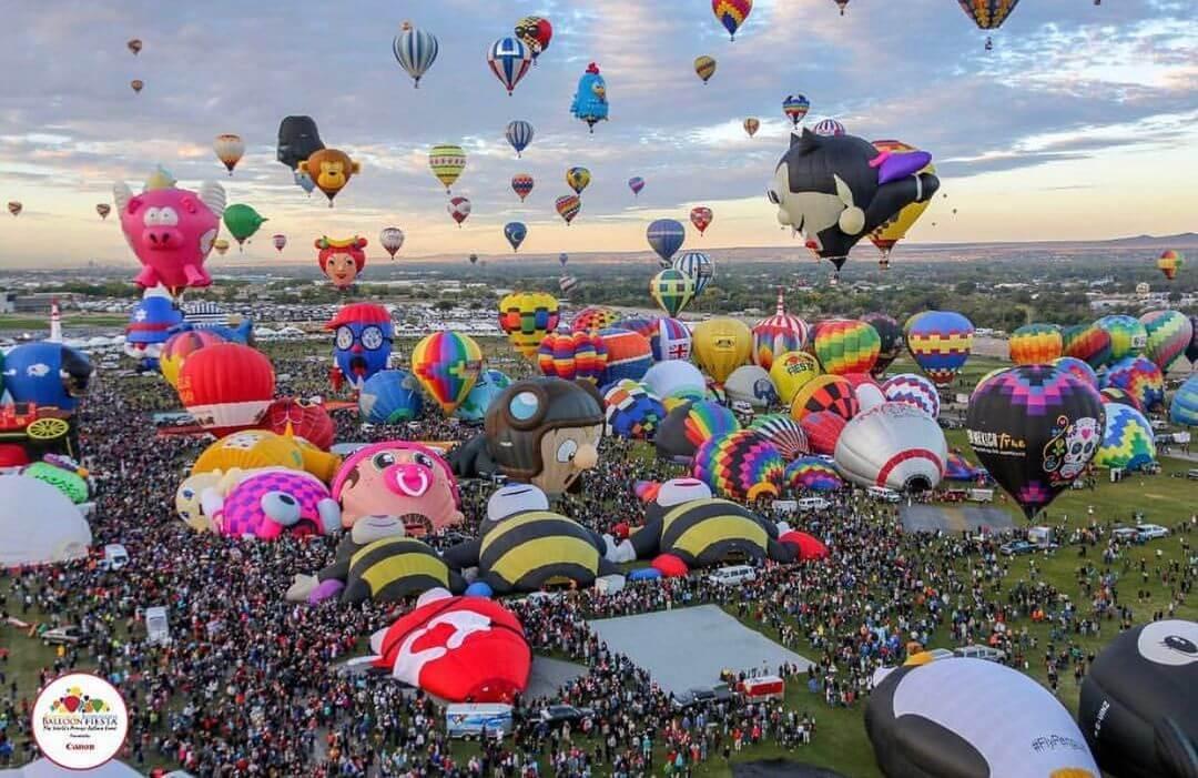 Albuquerque International Balloon Fiesta first time in new mexico