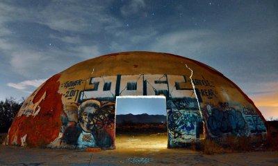 Arizona Dome night