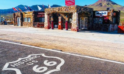 Cool Springs Route 66 arizona historic spot