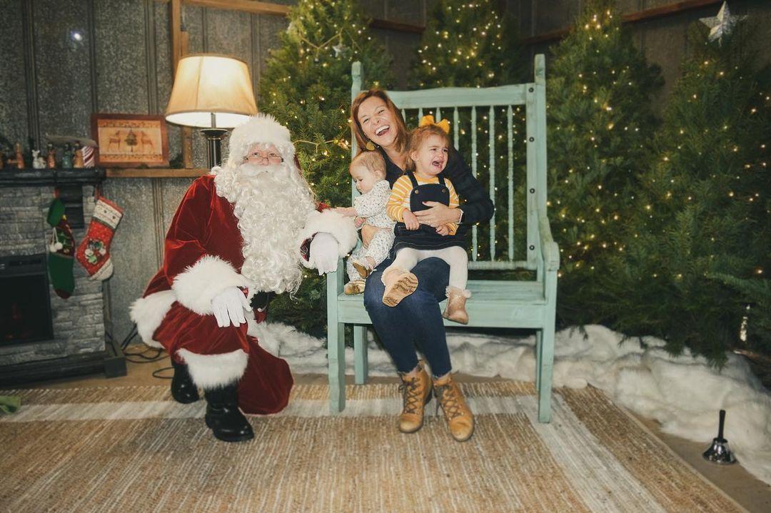 Mortimer Nursery santa