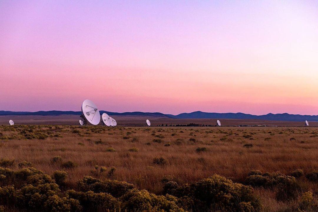 New Mexico desert radio telescope very large array