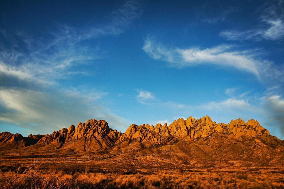 New Mexico mountain range beautiful photo